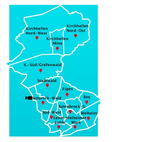 Wuppertal Karte Stadtteile.Hausmeisterdienst Touren In Bottrop Hausmeisterdienst In