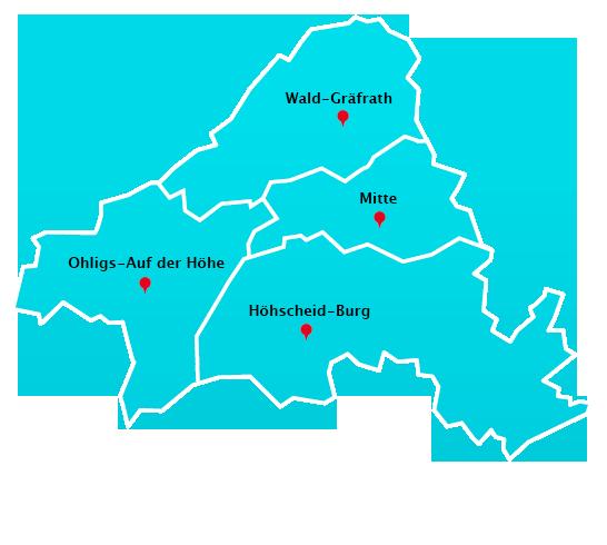 Wuppertal Karte Stadtteile.Hausmeisterdienst Touren In Solingen Hausmeisterdienst In